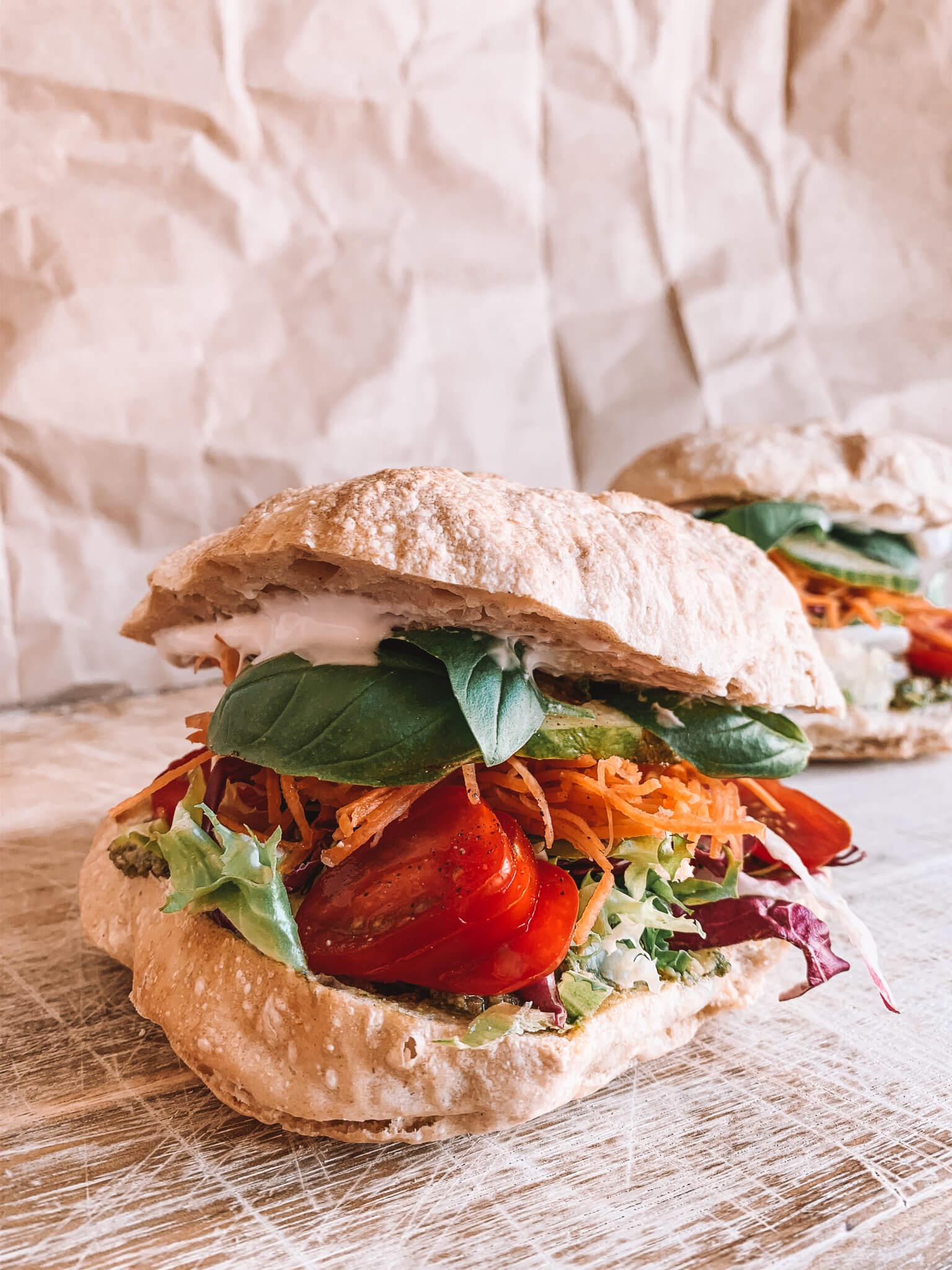 Salat Sandwich