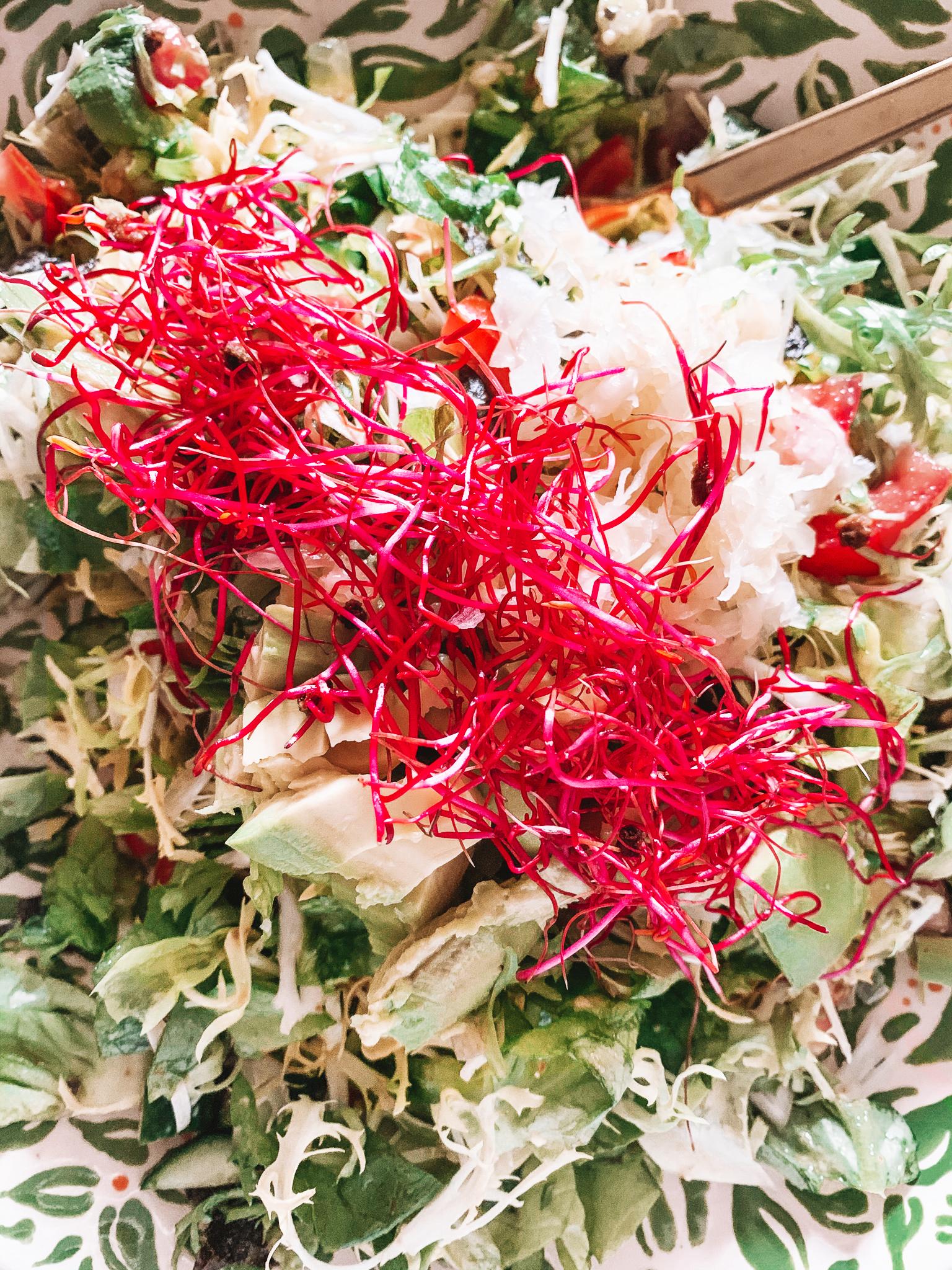 Regnbuesalat